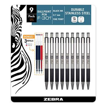 Zebra F-301 Pen, 9 pk.
