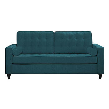 angelo:HOME Sterling Sofa in Midnight Paris Sky Blue Linen