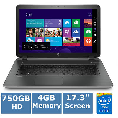 HP Pavilion 17-F030US Laptop, 1.9GHz Intel Core i3-4030U Processor