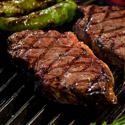 All Natural Grass-Fed Beef Strip Steaks
