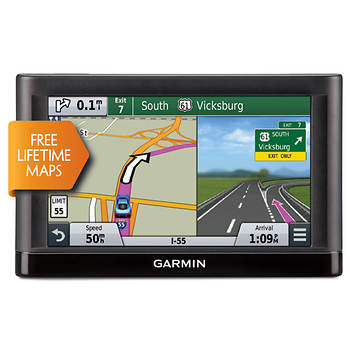 "Garmin nuvi 65LM 6"" Portable GPS with Lifetime Map"