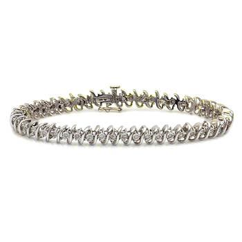 .50 Carat Diamond Tennis Bracelet in Sterling Silver