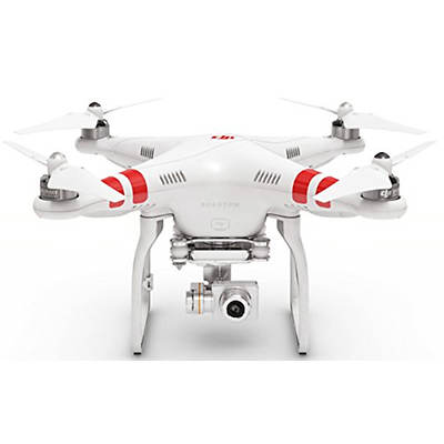 DJI Phantom 2 Vision+ V3.0 Quadcopter with Two 3-Axis Gimbals, 2 Batteries and FPV HD 1080p Video Camera