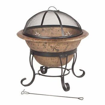 """DeckMate Soleil 29"""" Steel Fire Bowl"""