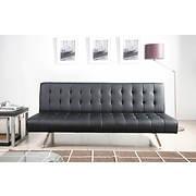 Abbyson Living Mia Futon Sleeper Sofa - Black