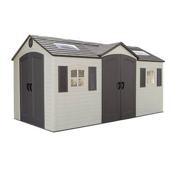 Lifetime 15' x 8' Dual Entry Shed