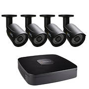 Q-See 4-Channel 4-Camera 1080p Security System with 500GB DVR