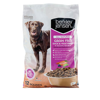 Berkley Jensen All Natural Grain Free Duck and Vegetables Holistic Recipe for Dogs, 12 lbs.