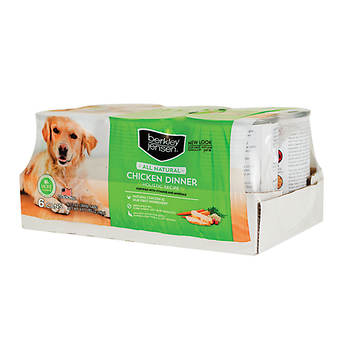 Berkley Jensen All Natural Canned Chicken Dinner Holistic Recipe for Dogs, 6 pk./13 oz.