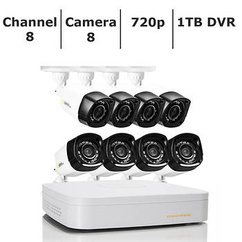 Q-See 8-Channel 8-Camera 720p Security System with 1TB HDD HD DVR