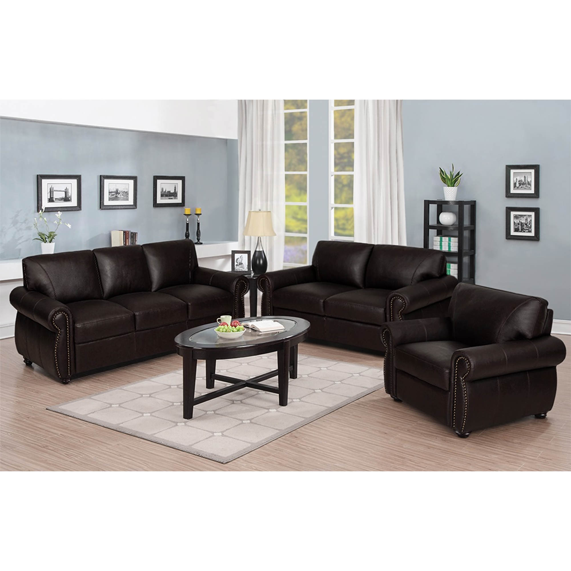 Three Piece Living Room Set – Modern House