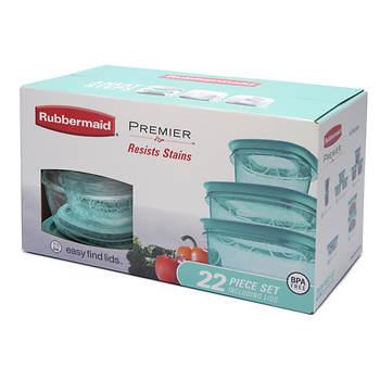 Rubbermaid Premier 22-Pc. Storage Set - Aqua