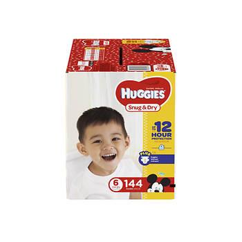 Huggies Snug & Dry Step 6 Diapers, 144 ct.