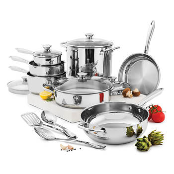 Wolfgang Puck 15-Pc. Cookware Set