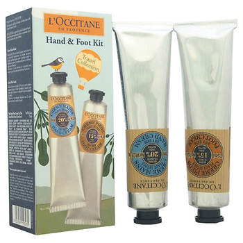 L'Occitane Hand & Foot Cream Travel Collection, 2-Pc. Gift Set