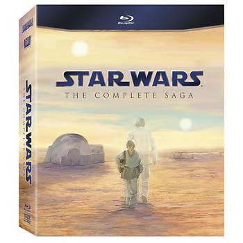 Star Wars: The Complete Saga (Episodes I-VI) 9 Blu-ray Set