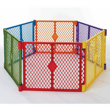North States Super Color Play Yard with Gate