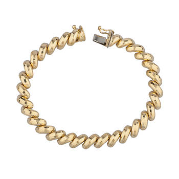 14k Yellow Gold San Marco Bracelet
