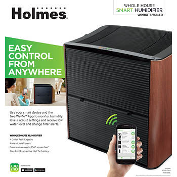 Holmes Smart 4-Gal. Whole Home Humidifier with WeMo