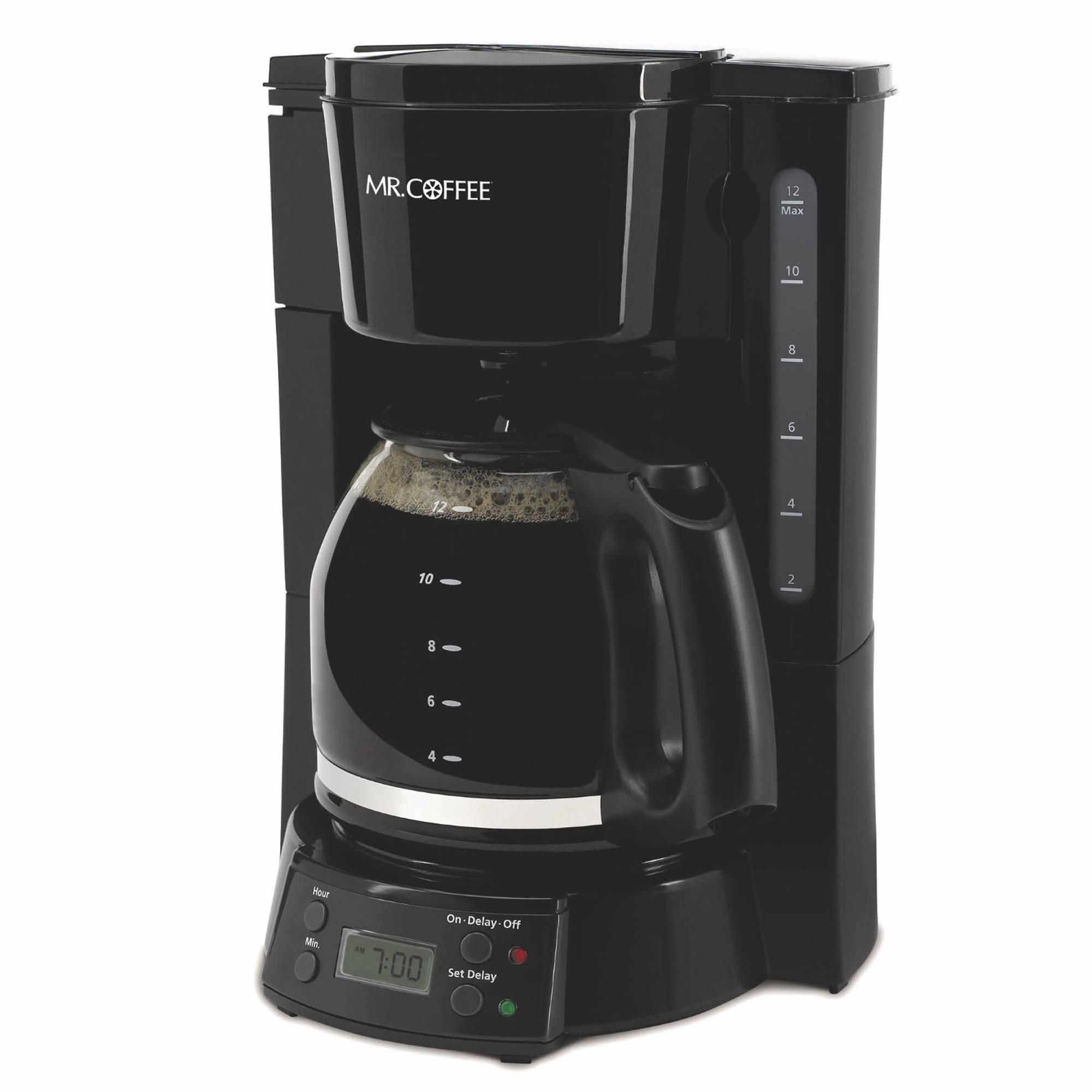 Mr Coffee 12 Cup Programmable Coffee Maker Black Bj S