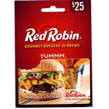 $25 Red Robin Gift Card