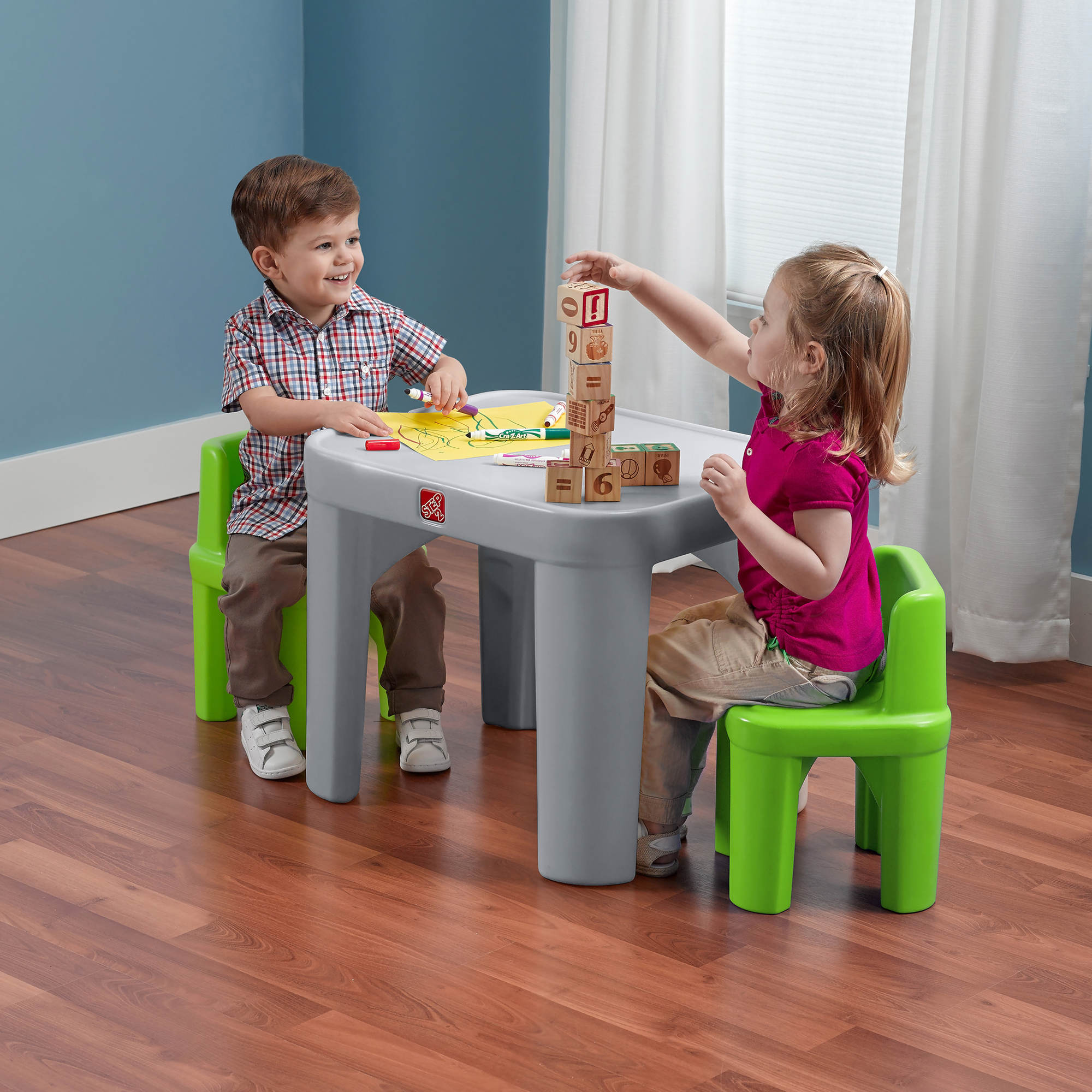 Step2 Mighty My Size Table and Chairs Set - BJs Wholesale Club