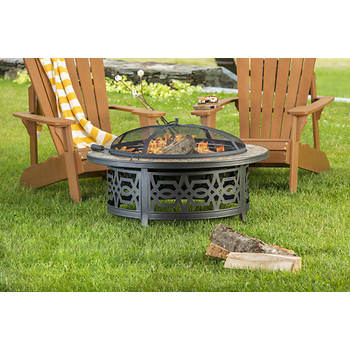 Berkley Jensen Wood-Burning Fire Pit