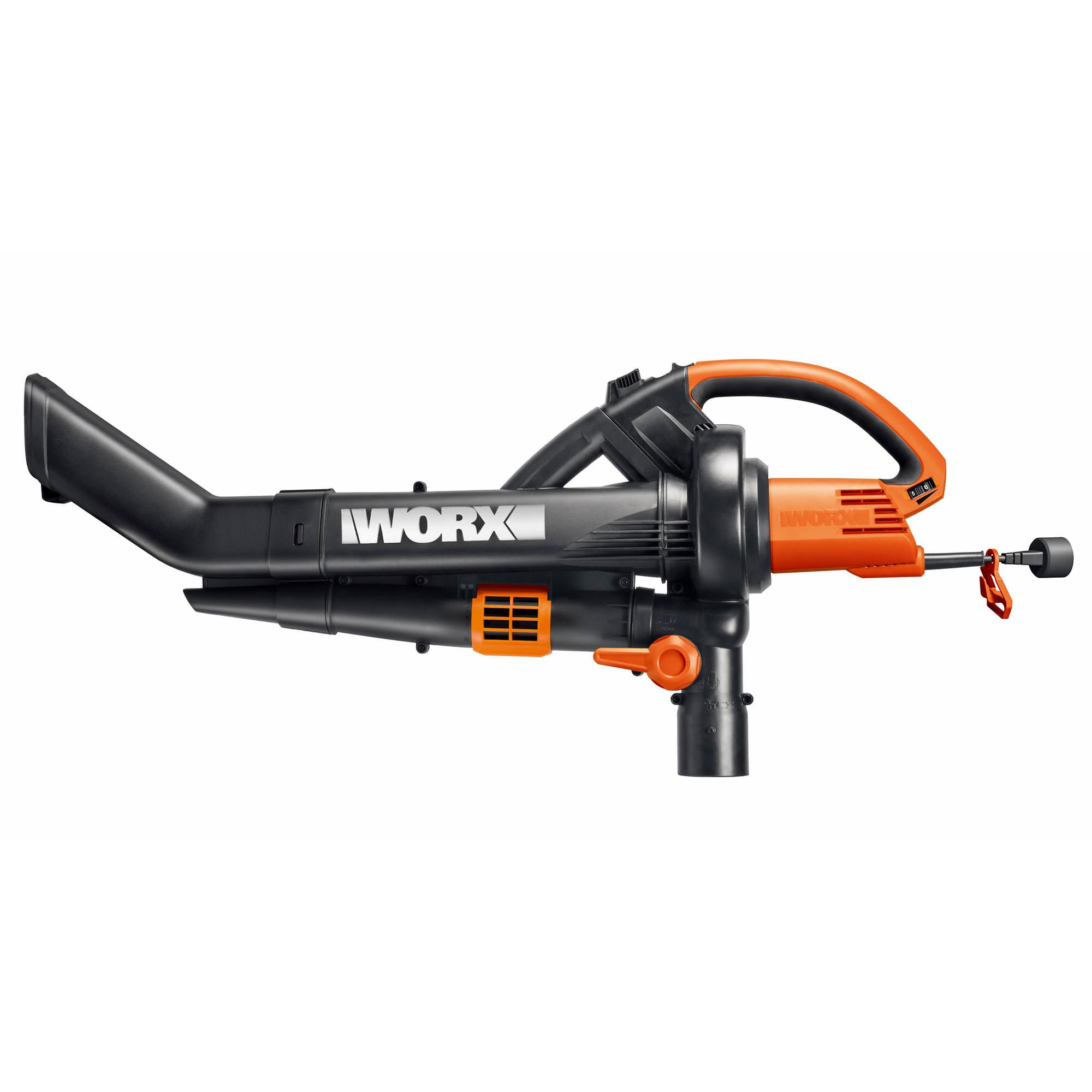Worx Leaf Blower Vacuum Mulcher : Worx electric trivac all in one blower mulcher and vacuum