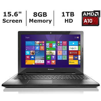 Lenovo Z50 80EC00BVUS Laptop, 1.9 GHz AMD A10-7300 Processor