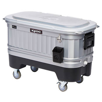 Igloo LiddUp Party Bar Illuminated Patio Cooler