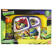 Teenage Mutant Ninja Turtles 5-Pc. Mealtime Set
