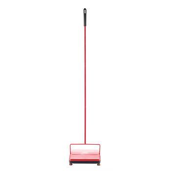 Fuller Brush Electrostatic Carpet Sweeper - Red