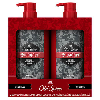 Old Spice Red Zone Swagger Scent Men's Body Wash, 2 ct./32 oz.