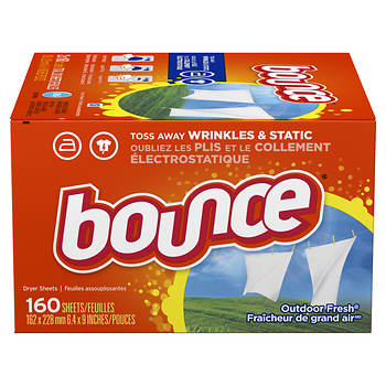 Bounce Dryer Sheets, Outdoor Fresh Scent, 320 ct.