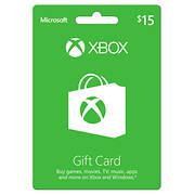 $15 Xbox Microsoft Gift Card