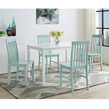 W. Trends Grayson 5-Pc. Dining Set - White/Sage