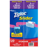 Ziploc Slider Storage Bags, Gallon Size, 120 ct.