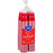 Berkley Jensen 18-Oz. Plastic Cups, 240 ct. - Red