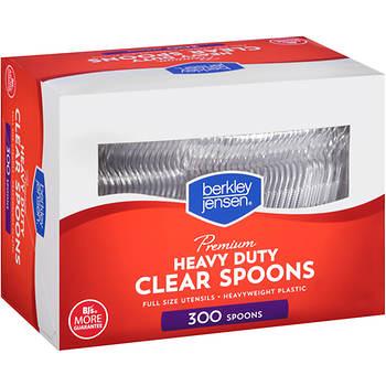 Berkley Jensen Plastic Spoons, 300 ct. - Clear