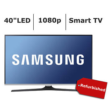 "Refurbished Samsung UN40J520D 40"" 1080p Smart LED TV"