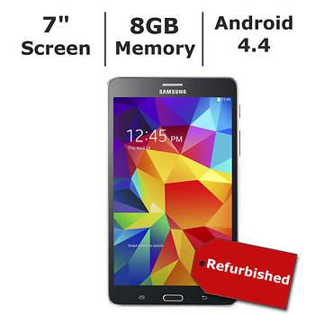 "Refurbished Samsung Galaxy Tab 4 7"" Tablet, 8GB Memory"