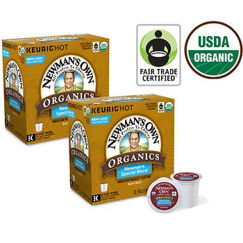 Newman's Own Organics Special Blend K-Cup Pods, 180 ct.