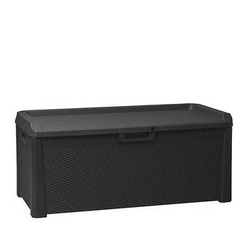Toomax Santorini 148-Gal. Wicker Deck Box