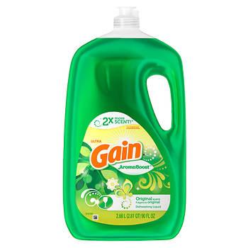 Gain Dish Detergent, 90 oz.