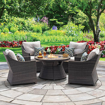 Berkley Jensen Crane 5-Pc. Fire Pit Chat Set