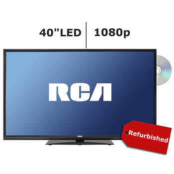 "Refurbished RCA LED40G45RQD 40"" 1080p LED TV/DVD Combo"