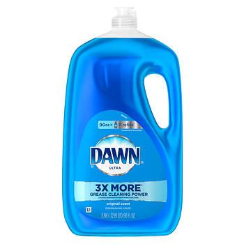 Dawn Ultra Dishwashing Liquid, Original Scent, 90 oz.