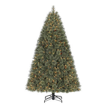 Home Heritage 7' Cashmere SureBright Clear Light Christmas Tree