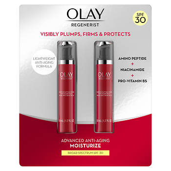 Olay Regenerist Micro-Sculpting Cream with SPF 30, 2 pk./1.7 oz.