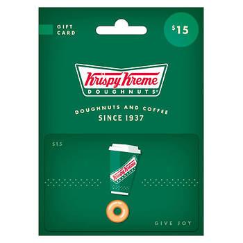 $15 Krispy Kreme Gift Card